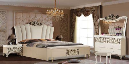 فروشگاه اینترنتی تختخواب ماکا چوب تولید کننده انواع سرویس خواب شیک مرجع خرید سرویس خواب خاص عروس با مدل بینظیر وندا در کنار شماست.