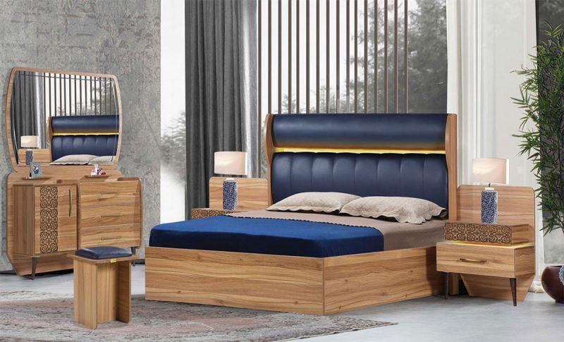 سرویس خواب شیک ارمیرا | مشخصات ، قیمت و خرید انواع تختخواب | فروشگاه اینترنتی ماکا چوب