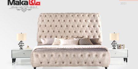 مشخصات، قیمت و خرید سرویس خواب دو نفره مدرن لالیک | فروشگاه و تولیدی تختخواب ماکاچوب | فروشگاه سرویس خواب دو نفره