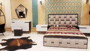 سرویس خواب مدرن | فروشگاه اینترنتی سرویس چوبی و تخت خواب ماکاچوب